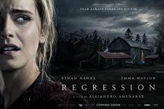 Regression Movie Emma Watson Banner Poster