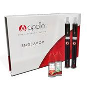 APOLLO ENDEAVOR STARTER KIT - INCLUDES 2 E-LIQUIDS! The Endeavour exists because we think it should be simple for you to get into vaping with a solid, reliable e-cigarette that doesn't make you compromise on price or build quality.