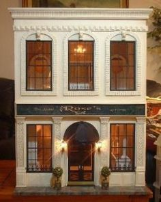 Image result for chicago greystone dollhouse