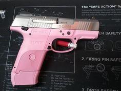 Pink Lady - Ruger SR9C 9mm Pistol - www.tzarmory.com