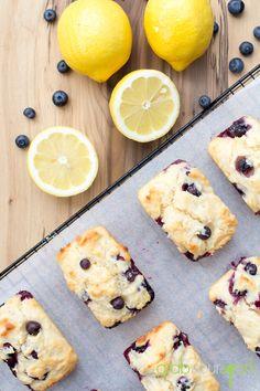 Blueberry and lemon cake recipe