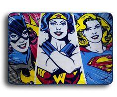 DC Superheroines Fleece Throw Blanket