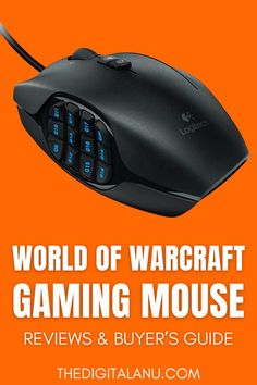 A brief review along with specification will make your search easier for a reliable product. This review is good for providing the complete knowledge about the functionality and the technology of the mouse. #mouse Best Laptops, Buyers Guide, Logitech, World Of Warcraft, Ergonomic Mouse, Computer Mouse, Knowledge, Good Things, Games