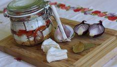 Nakladaný hermelín - Powered by Preserves, Camembert Cheese, Garlic, Baking, Vegetables, Food, Preserve, Bakken, Essen
