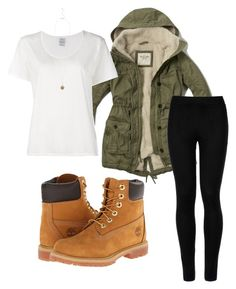 """""""Untitled #21"""" by luciaroto on Polyvore featuring Abercrombie & Fitch, Wolford, Timberland, Visvim and New Look"""