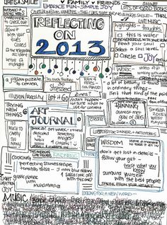 12-31-13 art journal | sketchbookbuttons