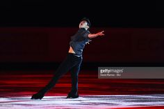 Vincent Zhou of United States performs at an exhibiton gala on day 4 of the ISU Junior & Senior Grand Prix of Figure Skating Final 2015/2016 at the Barcelona International Convention Centre on December 13, 2015 in Barcelona, Spain .