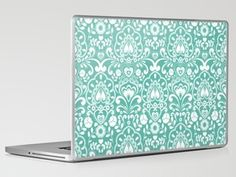 Blue tie Laptop & iPad Skin by Diane Kappa - $30.00