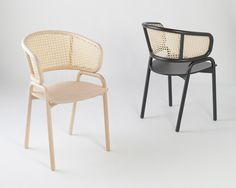 the chair is an experimental attempt to harmoniously combine elements of traditional design with bold, modern aesthetics and materials.