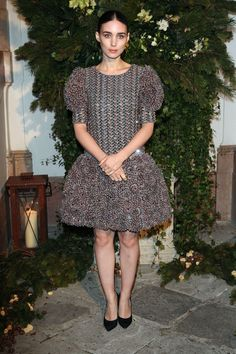 Rooney Mara in Chanel - Front Row at Chanel Pre Fall 2015