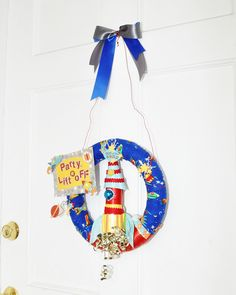 Rocket Wreath by The Knock Knock Factory