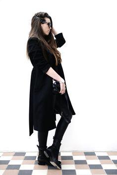 Style...COTTDS // Cindy van der Heyden // Black OUTFIT / LIFE AFTER THE PREGNANCY 