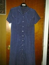 impressions dress for woman v quality fabric size xlarge free ship for $19.99 mint