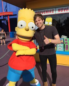 New gram by Luke Also I ran into Bart before I became a wizard life complete by lukehemmings
