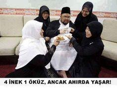 Din kadına cezadır