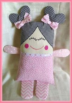 Amazing Home Sewing Crafts Ideas. Incredible Home Sewing Crafts Ideas. Doll Crafts, Baby Crafts, Sewing Crafts, Diy And Crafts, Baby Sewing Projects, Sewing For Kids, Doll Patterns, Sewing Patterns, Diy Couture