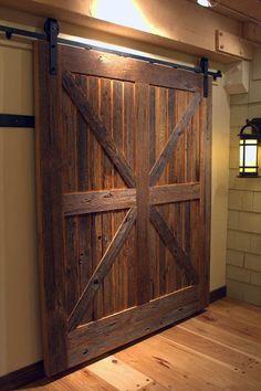 Американские амбарные двери купе. Barn door.