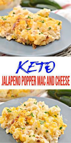 EASY Keto Cauliflower Mac and Cheese! Low Carb Jalapeno Popper Mac & Cheese Idea – Quick – Healthy – Baked Ketogenic Diet Recipe – Completely Keto Friendly - Keto for beginners Ketogenic Diet Meal Plan, Keto Meal Plan, Diet Meal Plans, Ketogenic Recipes, Diet Recipes, Diet Meals, Meal Prep, Diet Foods, Egg Recipes
