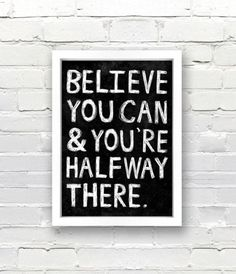 Believe you can! // #quotes