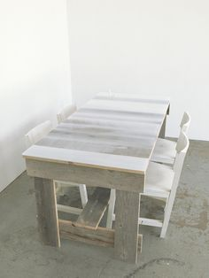 Flat Table with epoxy coating by Jo Nagasaka of Schemata Architects