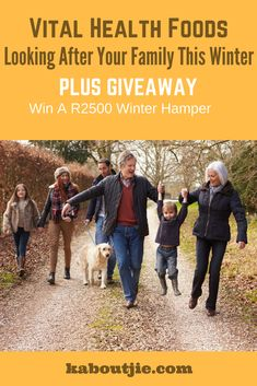 Vital Health Foods - Looking After Your Family This Winter!  Vital Health Foods shares 3 key ways to stay healthy and active this winter.   Win a R2500 Winter Hamper sponsored by Vital Health Foods.   #sponsored #winter #win #health