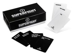 Superfight is like Cards Against Humanity + a Chuck Norris joke.