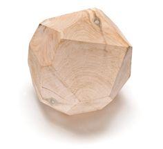 Wooden Gem Stool designed by Faraway House [Melbourne].