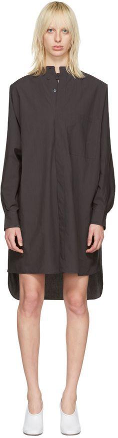 Acne Studios: Grey Siva Dress   SSENSE