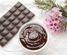 Crema rapida de ciocolata ( de post) - Desert De Casa - Maria Popa Sweets Recipes, Desserts, Chocolate Fondue, Pudding, Mai, Recipes, Tailgate Desserts, Deserts, Custard Pudding