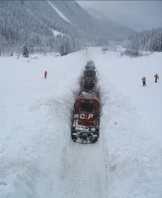 Snow Train, British Columbia, Canada photo via josep