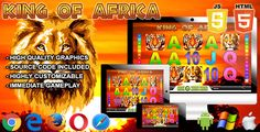 Buy King of Africa - Casino Game by All-Scripts on CodeCanyon. The King of Africa is a casino game. This game has been developed in / JavaScript and third-party library. Game Prices, Audio Music, Web Design Tutorials, Third Party, Scripts, Website Template, Slot, Africa, Coding