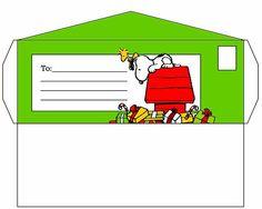 Sobre Snoopy Navidad.