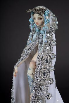 An Enchanted Doll™ by Marina Bychkova Costumed Engraved OOAK Porcelain BJD | eBay