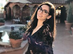 Mariam Aslami is wearing several frames from the American brand Rachel Roy. Eyewear that celebrates the strong, sexy, cool DNA… Rachel Roy, Dna, Eyewear, Frames, Palette, Strong, Stainless Steel, In This Moment, American