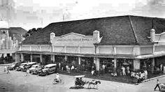 Batavia winkel gallery Pasar Baroe 1940.