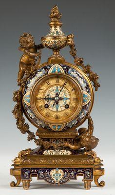 Tiffany & Co. Shelf Clock- Tiffany & Co. Shelf Clock Tiffany & Co. Diy Clock, Clock Decor, Clock Antique, Vintage Clocks, Vintage Stuff, Classic Clocks, Retro Clock, Wall Clock Online, Mantel Clocks