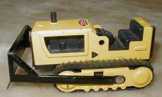 1970's toys | Nice Vintage Tonka Toys Bulldozer Pressed Steel Early 1970'S | eBay