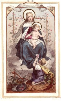 """catholicsoul: """"Jesus Christ one day allowed St. Bridget to hear Him thus addressing His Mother: """"My Mother, ask Me what thou wilt!"""" And so is her Divine Son addressing Mary in Heaven, taking pleasure..."""