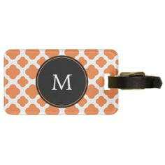 >>>best recommended          	Monogrammed Orange and White Quatrefoil Pattern Tag For Luggage           	Monogrammed Orange and White Quatrefoil Pattern Tag For Luggage in each seller & make purchase online for cheap. Choose the best price and best promotion as you thing Secure Checkout you can ...Cleck Hot Deals >>> http://www.zazzle.com/monogrammed_orange_and_white_quatrefoil_pattern_luggage_tag-256108849236982956?rf=238627982471231924&zbar=1&tc=terrest