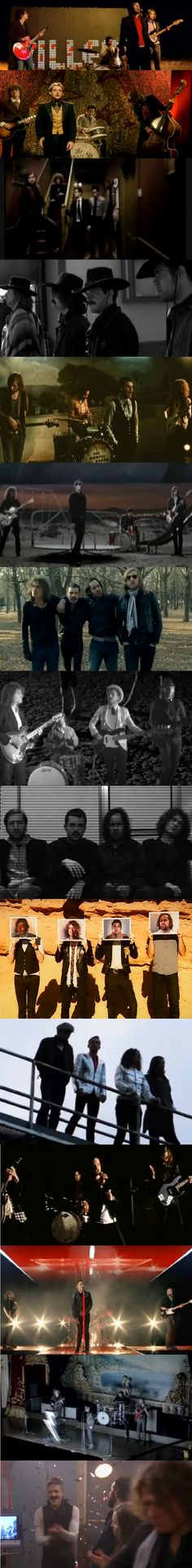 Shots from all The Killers' vids in order that have the whole band in