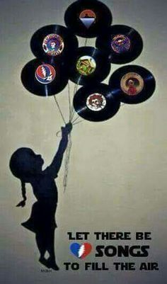 Let there be songs to fill the air! Grateful Dead