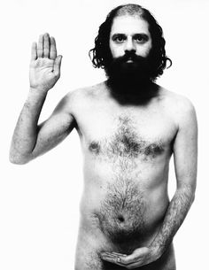 Allen Ginsberg by Richard Avedon