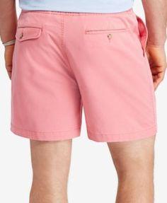 "Polo Ralph Lauren Men's Big & Tall 6"" Classic-Fit Drawstring Shorts - Beige Khaki 4XB"