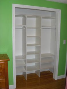 Closet Organizer - by nuzzo @ LumberJocks.com ~ woodworking community