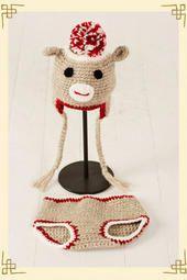 Sock Monkey Set @ Francesca's