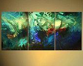 Original Paintings by Osnat Tzadok por OsnatFineArt en Etsy