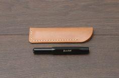 Minimal Pen Case / Pouch for Kaweco Fountain Pen by kavkashop, $6.99