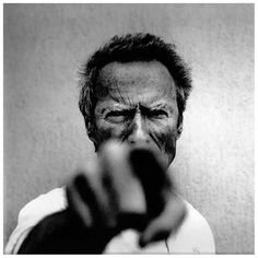 I don't like truth, ...EASTERN design office - Anton Corbijn - Clint Eastwood