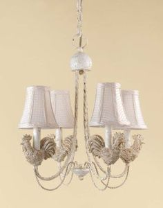 rooster chandelier for kitchen