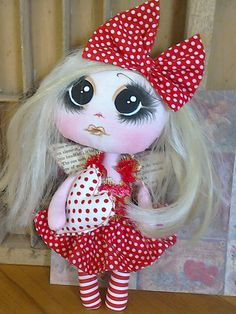 Let Me Call You Sweetheart by Crow House Dolls  @ etsy.     Spring 2015